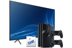 "Samsung 58"" 4K TV  NU7100 2018 Model  & PS4 Pro 1TB Bundle  - Click for more details"