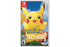 Pokemon Let's Go, Pikachu - Nintendo Switch  - Click for more details