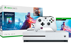 Xbox One S 1TB Battlefield V Bundle - Deluxe Edition - Click for more details
