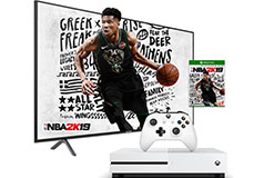"Samsung 58"" 4K TV NU7100 2018 Model & Xbox One S 1TB Bundle - Click for more details"