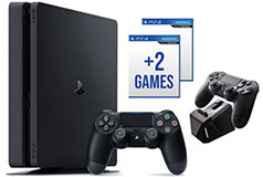 PlayStation 4 Slim 1TB Bundle  - Click for more details