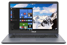 "Asus N5000 17.3"" Laptop  (Intel N5000/8GB RAM/1TB HDD/Windows 10) - Click for more details"