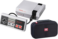 Nintendo NES Classic Edition with Nintendo Deluxe Travel Case for NES/SNES Classic Bundle   - Click for more details