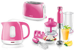 Kitchen Essentials - Sencor Toaster, Kettle and Hand Blender Bundle in Rose - Click for more details