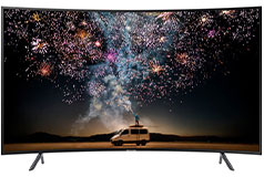 "Samsung 65"" 4K UHD RU7300 Curved Smart TV"