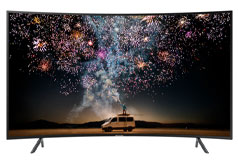 "Samsung 55"" RU7300 Curved Smart 4K UHD TV"