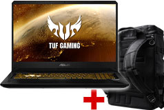 "Asus 17.3"" i7 8750H Laptop & TUF Gaming Backpack Bundle"