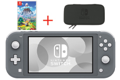 Nintendo Switch Lite - Gray Bundle - Click for more details