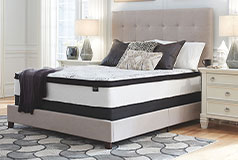 Ashley 12 Inch Hybrid Queen Mattress in a Box - Click for more details
