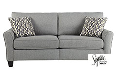 Ashley Strehela Sofa in Silver - Click for more details