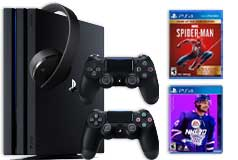 PS4 Pro 1TB NHL20 & Spiderman GOTY Gaming Bundle - Click for more details
