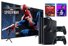 "Samsung 58"" Smart 4K UHD TV & PS4 Pro NHL20/Spiderman GOTY Bundle - Click for more details"