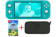 Nintendo Switch Lite - Turquoise Bundle - Click for more details