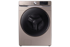 Samsung 4.5 Cu. Ft. 10-Cycle High-Efficiency Front-Loading Washer with Steam Champagne - Click for more details