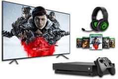 "Samsung 58"" 4K Smart TV & Xbox One X Gears 5 Bundle - Click for more details"