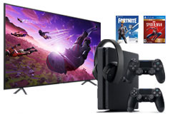 "Samsung 58"" 4K Smart TV & PS4 Slim 1TB Neo Versa Bundle - Click for more details"