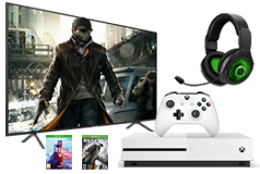 "Samsung 58"" 4K Smart TV & Xbox One S 1TB Bundle - Click for more details"