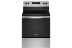Whirlpool 5.3 Cu. Ft. Freestanding Electric Range with Steam-Cleaning and Frozen Bake - Click for more details