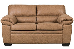 Jamieson Loveseat in Caramel - Click for more details