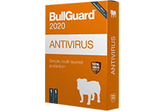 BullGuard Antivirus w/2 years license - Click for more details
