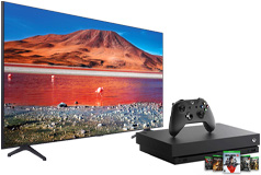 "Samsung 58"" TU7000 Smart 4K UHD TV 2020 Model & Xbox One X 1TB Gears 5 Bundle - Click for more details"