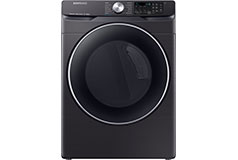 Samsung 7.5 Cu. Ft. Electric Dryer with Steam - Black stainless steel