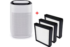 JS Vanguard 2-in-1 Air purifier HEPA and dehumidifier + 3 replacement filters - Click for more details