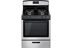 Amana 5.1 Cu. Ft. Freestanding Gas Range - Stainless steel - Click for more details