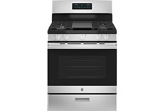 GE 5.0 Cu. Ft. Freestanding Gas Range - Stainless steel - Click for more details