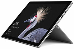 "Microsoft Surface Pro 12.3"" 256GB - Silver (i5-7300U/8GB/256GB/Win 10 Pro) - Click for more details"