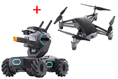DJI RoboMaster S1 Robot + DJI Tello Education Drone Bundle - Click for more details