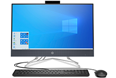 "HP All-in-One Night Blue 23.8"" Desktop (Intel G6400T/8GB/1TB/Win 10 Home) - Click for more details"