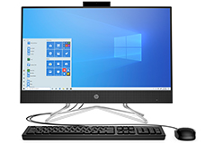 "HP All-in-one Deep Burgundy 23.8"" 3150U Desktop"