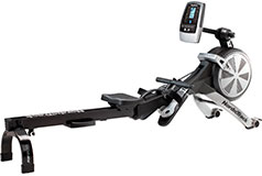 NordicTrack - RW200 Rower - Black/Gray - Click for more details