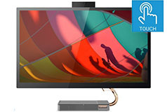 "Lenovo 27"" IdeaCentre i5 AIO Touchscreen Desktop (Intel i5-10400T/8GB/512GB/Win 10 Home) - Click for more details"