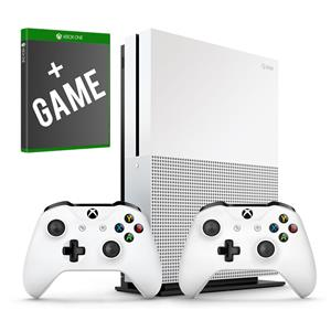 Xbox One S Bundle(1TB/2 Controllers/Game)
