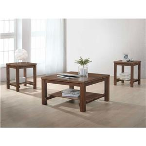 Dakota 3 Piece table set Coffee table 2 end tables. \   sc 1 st  MDG & Dakota 3 Piece table set \u2013 coffee table 2 end tables