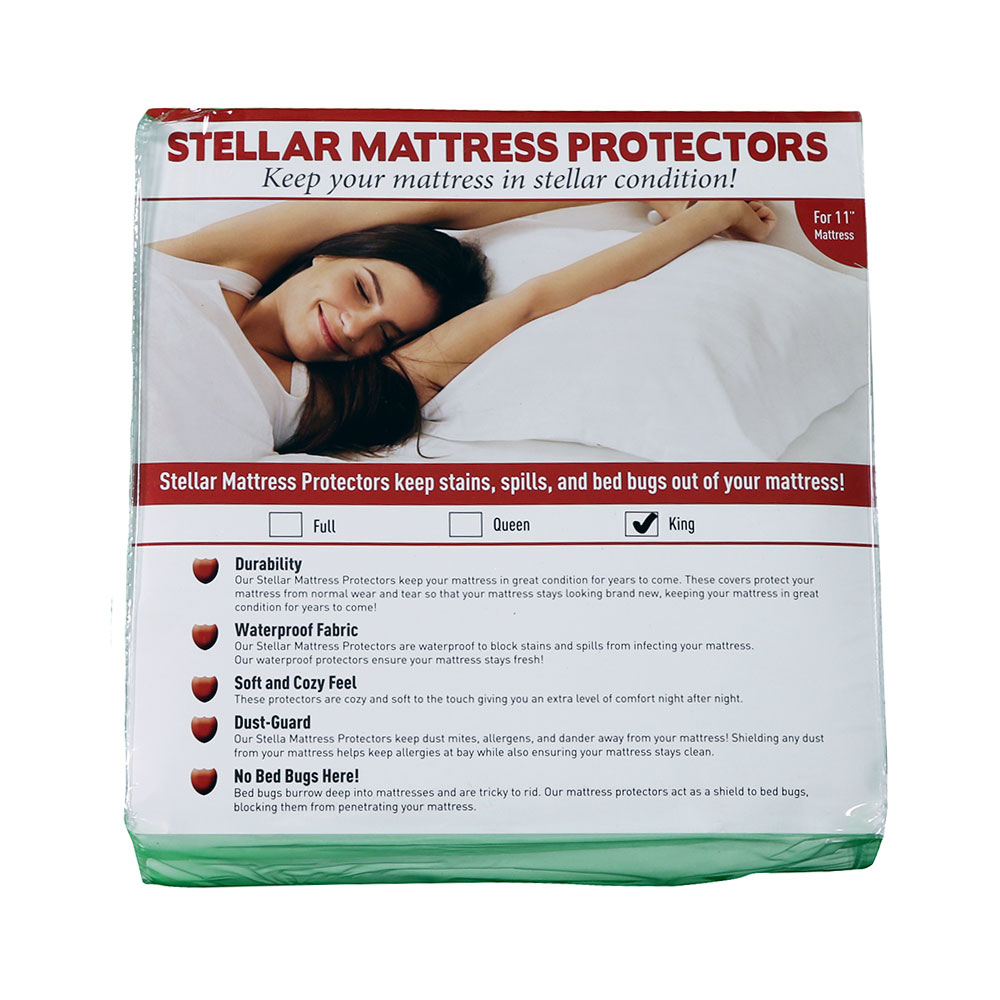 "Stellar Mattress ProtectorKing Size 11"" depth"