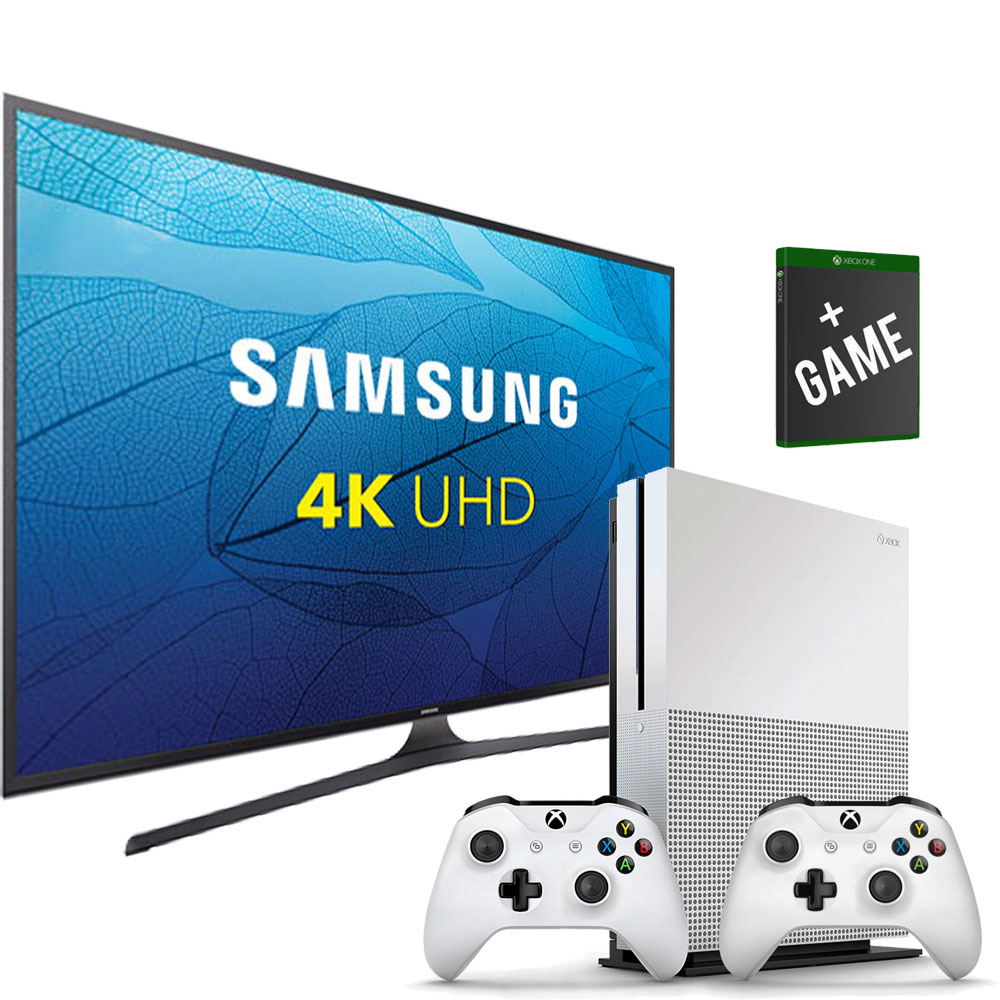 samsung 65 uhd 4k smart tv xbox one s bundle. Black Bedroom Furniture Sets. Home Design Ideas