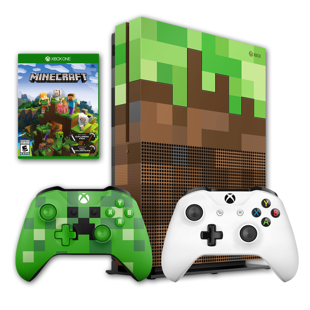 how to download minecraft on the xbox one s