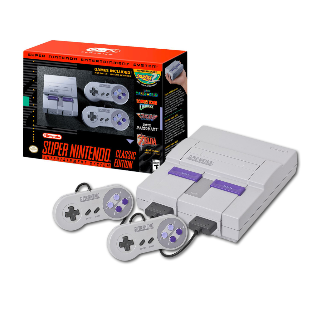 nintendo super nes classic edition. Black Bedroom Furniture Sets. Home Design Ideas