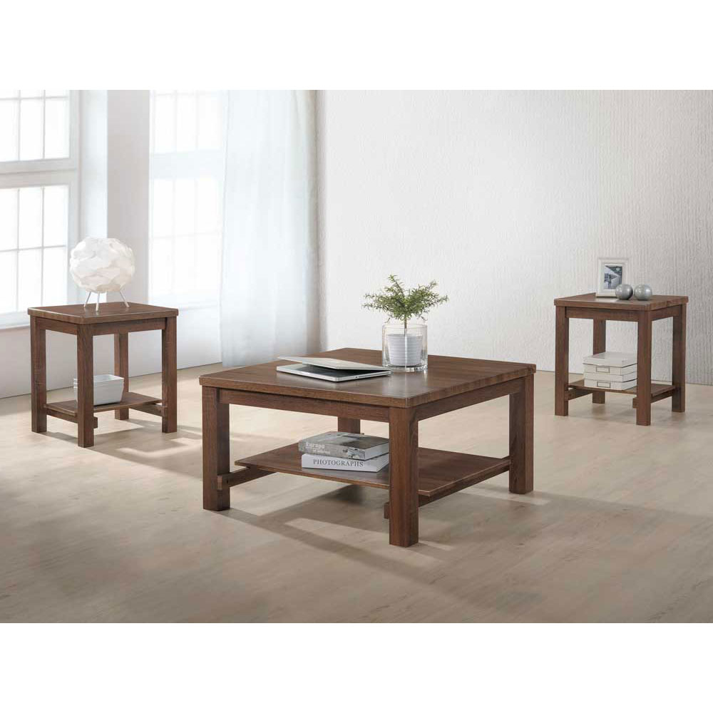 Dakota 3 Piece table set – coffee table, 2 end tables
