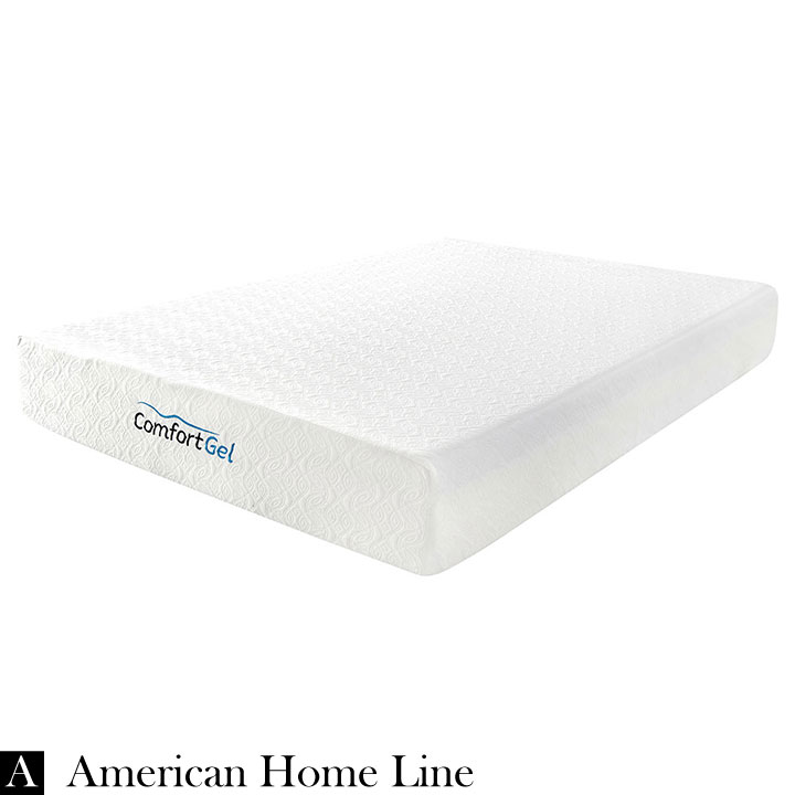 Comfort Gel 10 King Mattress 2in1 Set