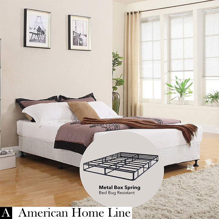 "Sleep Rest 13"" Queen Mattress Set Includes: Mattress and 2-in-1 Bed & Box Spring"