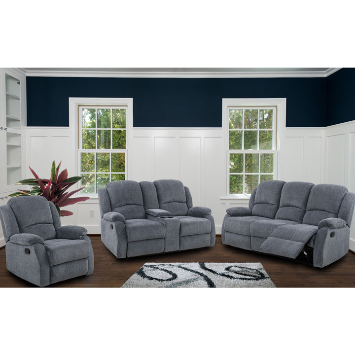 Marvelous Crawford Recliner 3 Piece Livingroom Set S L C Caraccident5 Cool Chair Designs And Ideas Caraccident5Info