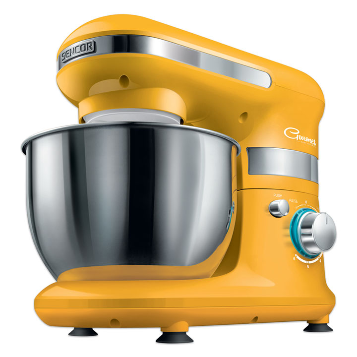 Sencor Stand Mixer in Yellow