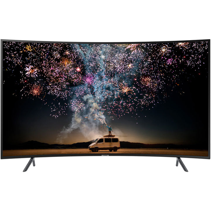 "Samsung 65"" UHD HDR 4K Curved LED Smart TV RU7300 2019 Model"