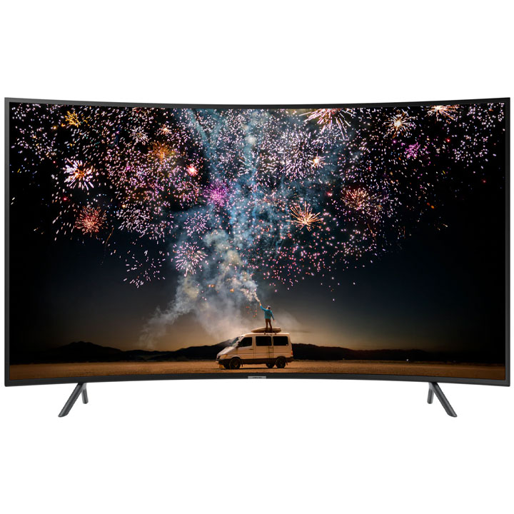 "Samsung 55"" UHD HDR 4K Curved LED Smart TV RU7300 2019 Model"