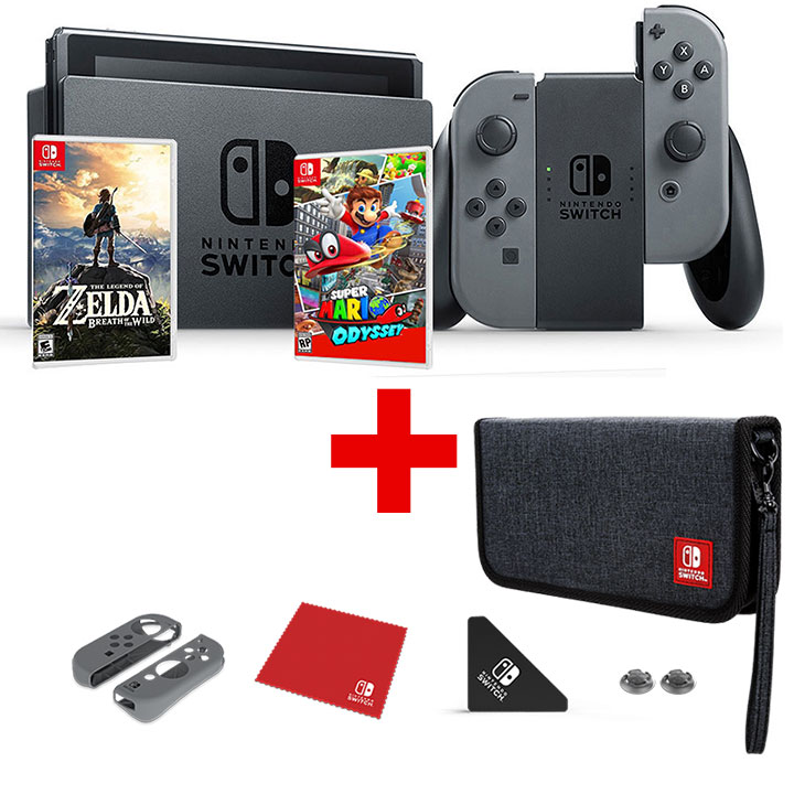 Nintendo Switch (Super Mario/Zelda) Bundle