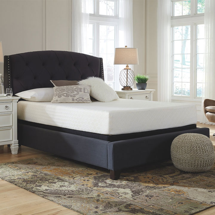 Ashley 10 Inch Memory Foam Queen Mattress in a Box
